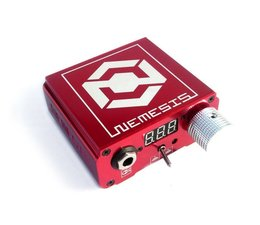 NEMESIS tattoo power supply - red
