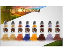 WORLD FAMOUS INK ILya Foam Animal Kingdom Set 16x30ml