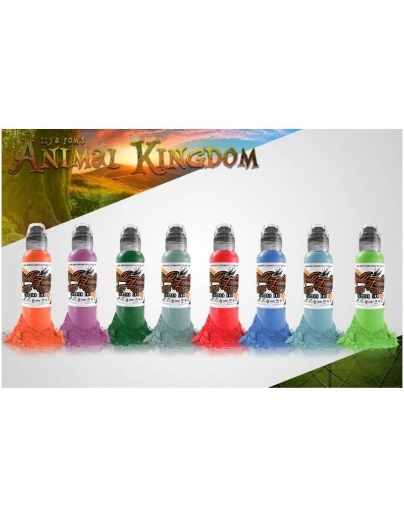 WORLD FAMOUS INK® ILya Foam Animal Kingdom Set 16x30ml