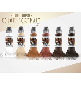 WORLD FAMOUS INK World Famous  - Michele Turco Portrait Set 6 x 30ml