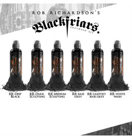 WORLD FAMOUS INK World Famous  - ROB RICHARDSON shading set 6x120ml