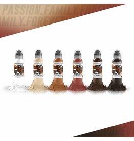 WORLD FAMOUS INK® World Famous  - Michele Turco Portrait Set 6 x 30ml