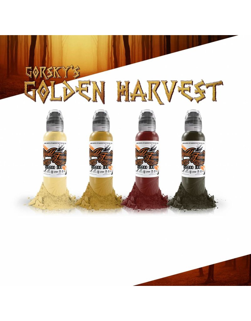 WORLD FAMOUS INK® Gorsky's Golden Harvest Set - 1oz - 4x30ml