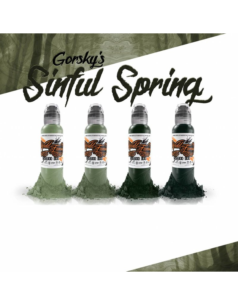 WORLD FAMOUS INK® Gorsky's Sinful Spring Set - 1oz - 4x30ml