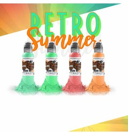 WORLD FAMOUS INK® Gorsky's Retro summer Set - 1oz - 4x30ml