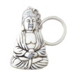 Sleutelhanger mediterende boeddha