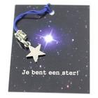Toi toi toi kaartje 'je bent een ster'