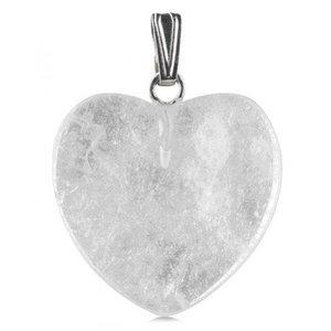 Bergkristallen hartje - 2 cm