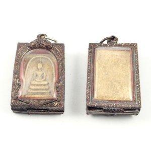Boeddha amulet in luxe hanger