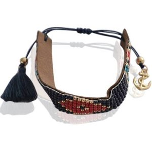 Blauw Aztec armbandje