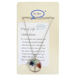 Tree of Life ketting - chakra