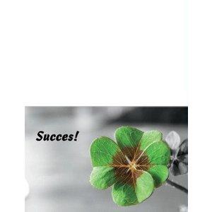 Dubbel kaartje 'Succes'