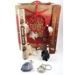 Cadeaupakket met symboische kado's
