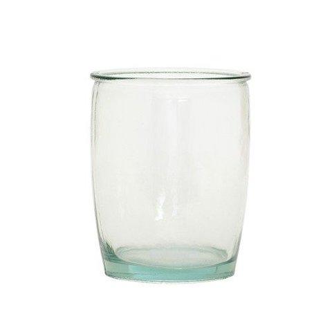 Teelichthalter Glas von Hübsch Interior