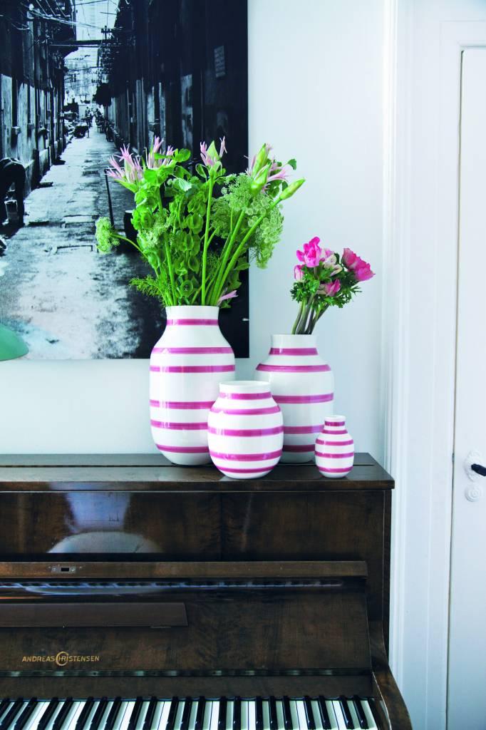 k hler design vase omaggio rose stilherz. Black Bedroom Furniture Sets. Home Design Ideas