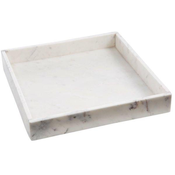 Madam Stoltz Tablett Marmor von Madam Stoltz