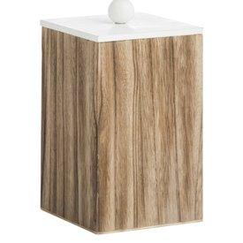 Madam Stoltz Aufbewahrungsbox Holz/Weiß S
