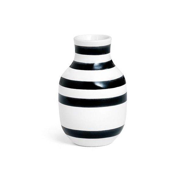 """Kähler Design Vase """"Omaggio"""" Schwarz von Kähler Design"""