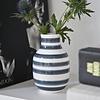 "Vase ""Omaggio"" Grau von Kähler Design"