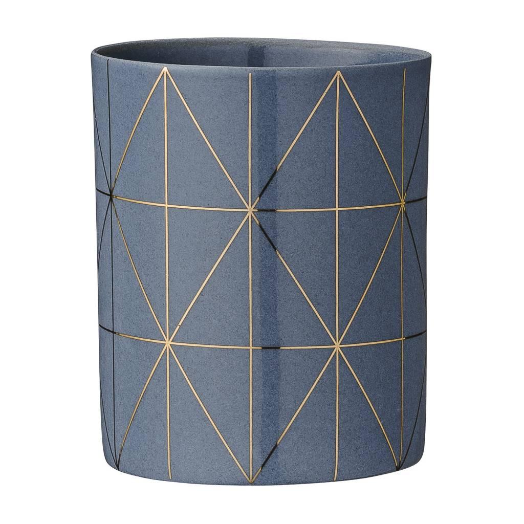 bloomingville teelichthalter grau gold stilherz. Black Bedroom Furniture Sets. Home Design Ideas
