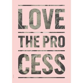 I LOVE MY TYPE Process, Light Pink