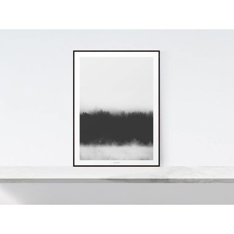 """Poster """"Landscape No. 37"""" von typealive"""