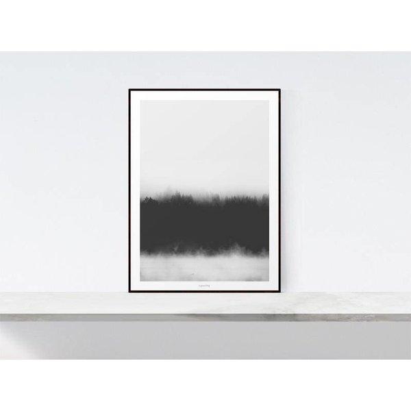 """typealive Poster """"Landscape No. 37"""" von typealive"""