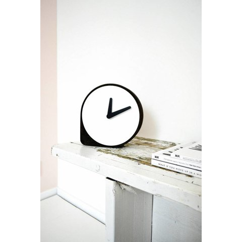 """Uhr """"Clork Black"""" von Puik Art"""