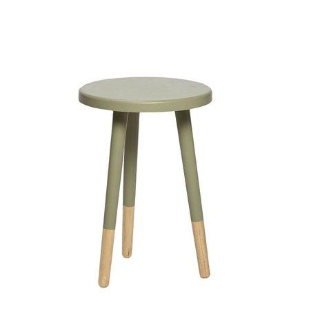 Design-Beistelltisch Jadegrün von Hübsch Interior