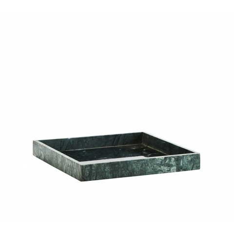 Tablett Marmor grün von Madam Stoltz