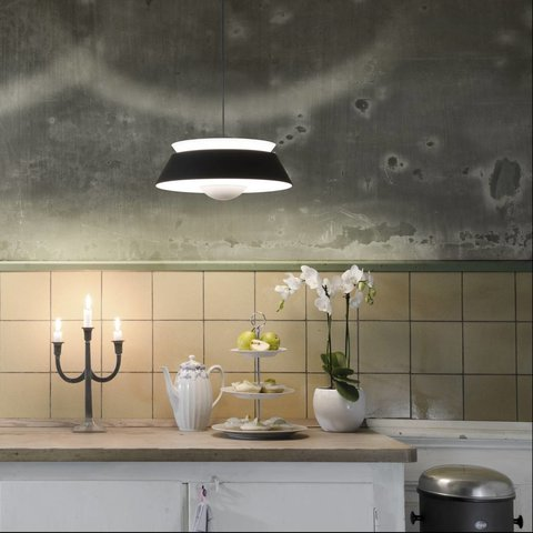 """Lampenschirm """"Cuna black"""" von Vita Copenhagen"""