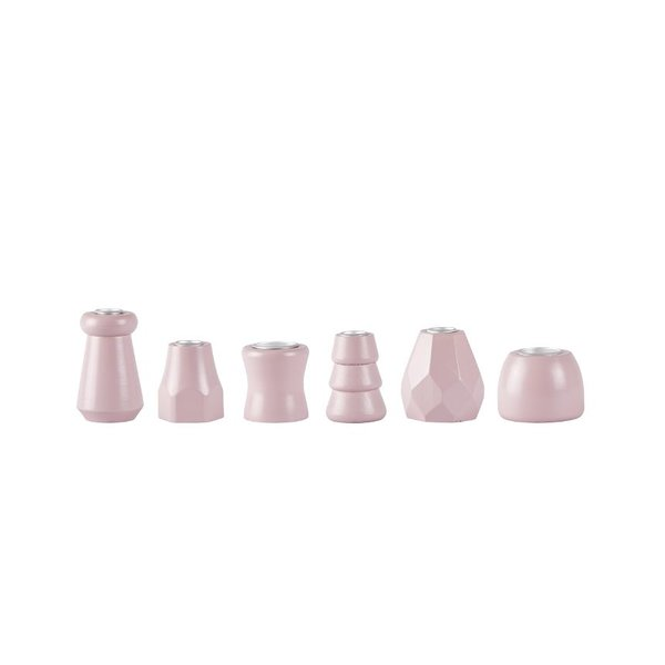 bovictus - KJ Collection Kerzenständer-Set Rosa von bovictus