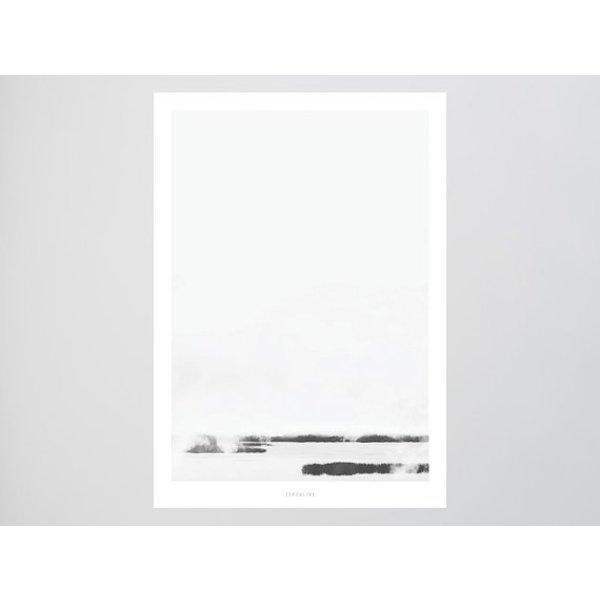 """typealive Poster """"Landscape No. 39"""" von typealive"""