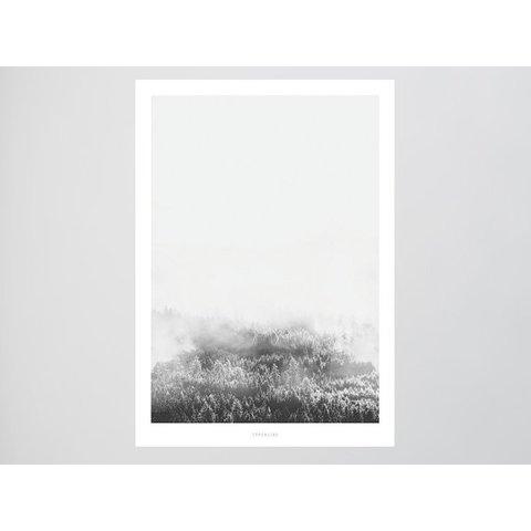 """Poster """"Landscape No. 9"""" von typealive"""