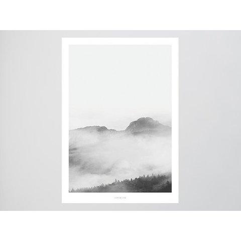 """Poster """"Landscape No. 16"""" von typealive"""