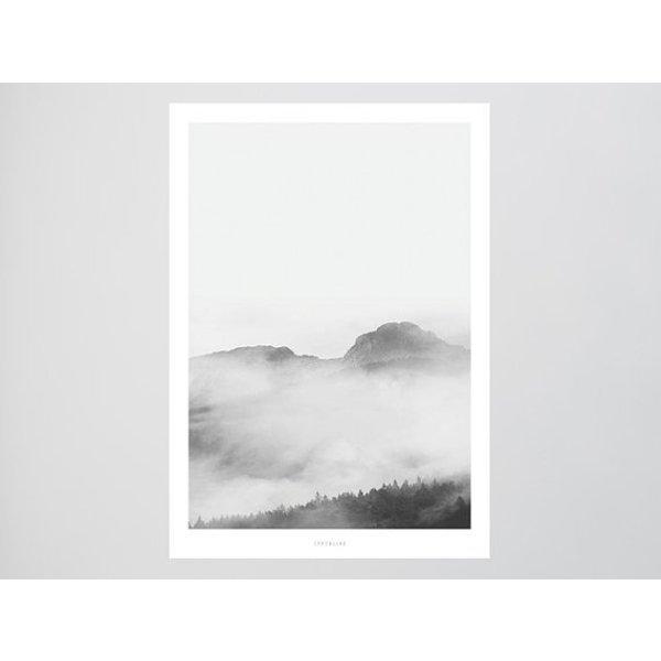 """typealive Poster """"Landscape No. 16"""" von typealive"""