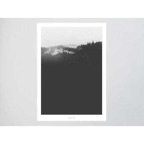 """Poster """"Landscape No. 20"""" von typealive"""