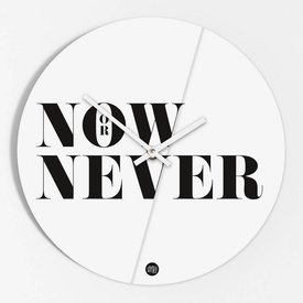 "Amy&Kurt Wanduhr ""Now or never"""