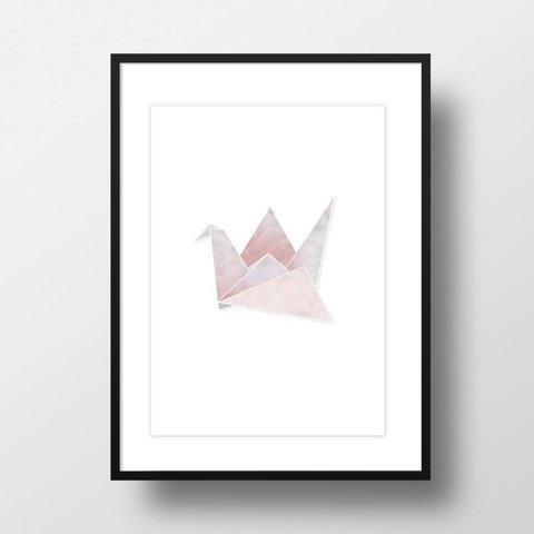 "Bild ""Origami Kranich"""