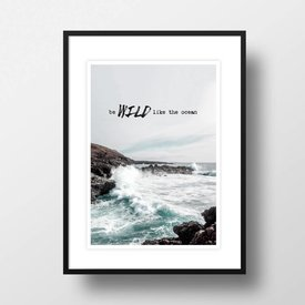 "Amy&Kurt Bild ""Wild like the ocean"" von Amy & Kurt"