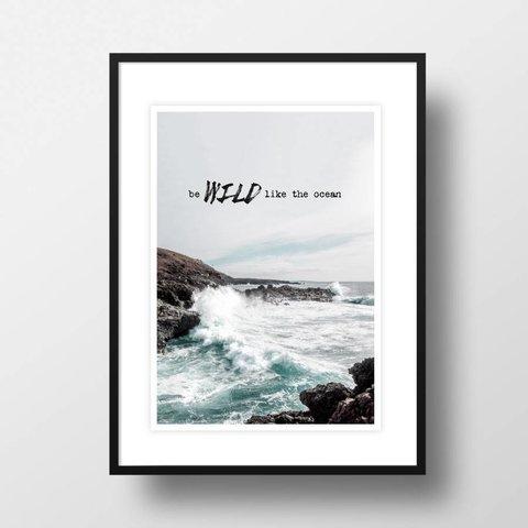 """Bild """"Wild like the ocean"""" von Amy & Kurt"""