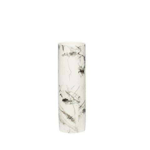 Vase Marmormuster von Hübsch Interior