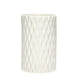 Hübsch Interior Vase mit Muster