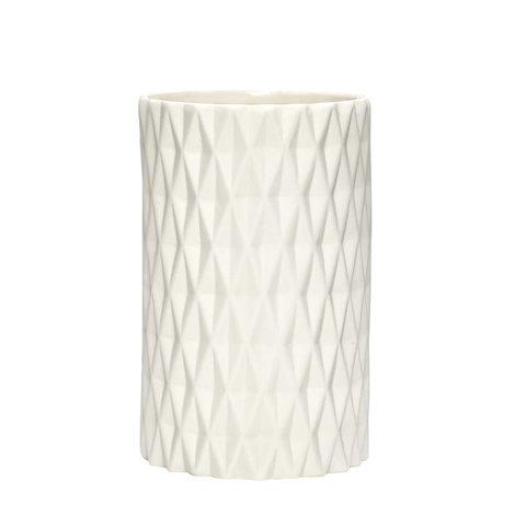 Vase mit Muster von Hübsch Interior