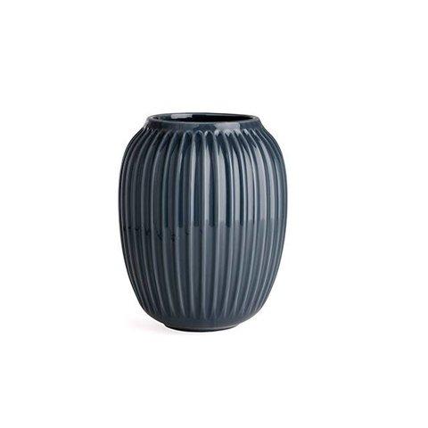 """Vase """"Hammershoi"""" Anthracite von Kähler Design"""
