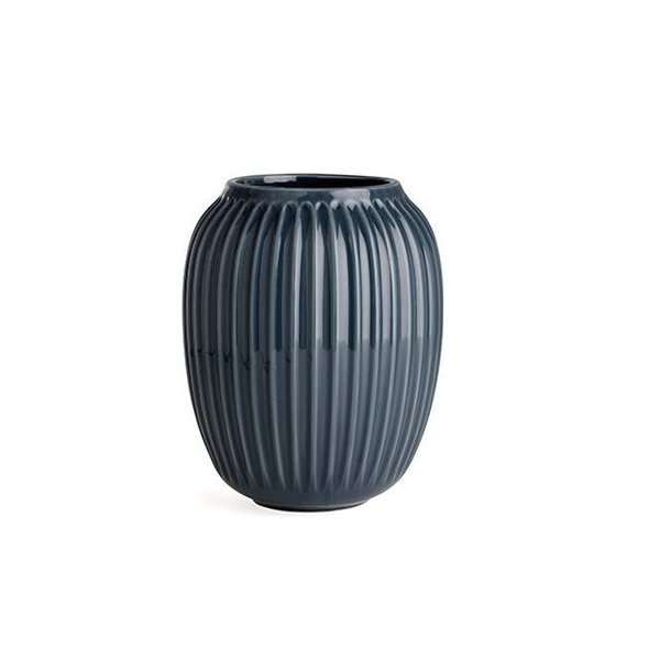 """Kähler Design Vase """"Hammershoi"""" Anthracite von Kähler Design"""