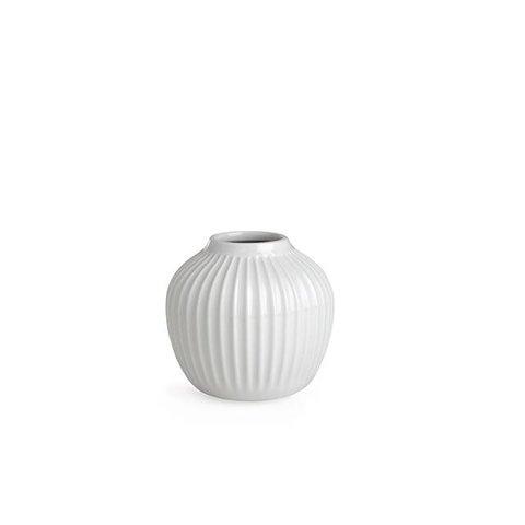 """Vase """"Hammershoi"""" Weiß von Kähler Design"""