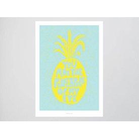 "typealive Postkarte ""Ananas No. 2"""