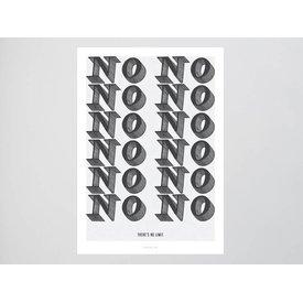 "typealive Postkarte ""No Limit"""