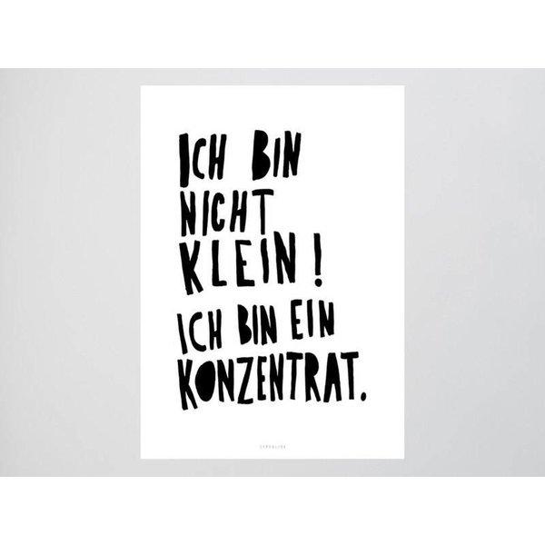 """typealive Postkarte """"Konzentrat"""" von typealive"""